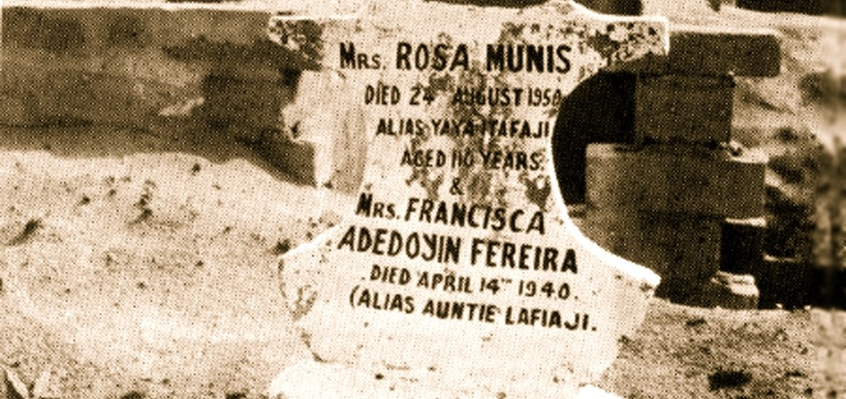 2 In memory RosaMunis and Francisca Fereira