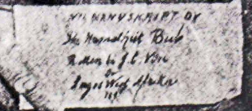 JCV's sign